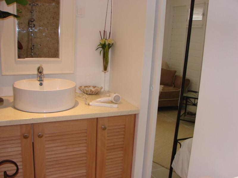 Vasque dans salle de douche Netanya
